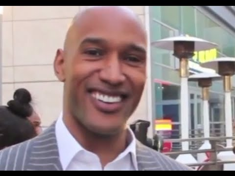 Actor Henry Simmons at From The Rough Movie Premiere!