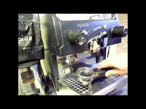 Commercial Coffee Machine Backflushing
