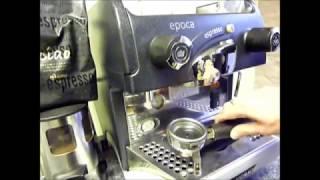 Commercial Coffee Machine Backflushing