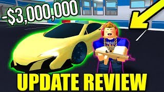 BUYING THE $3M FURY // IS THE SCAR WORTH IT? | Roblox Mad City Update Review