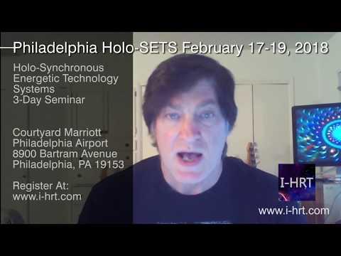 Philadelphia Feb 17-19, 2018 Holo-SETS Seminar Information