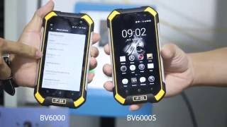 BV6000s VS BV6000 - Steel ball bumping test, best selling IP68 rugged smartphone