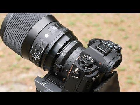 Sony A9 & Sigma 135mm F1.8 Art Test - MC-11 Adapter