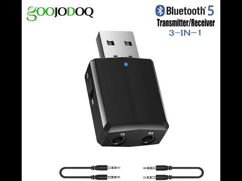 USB Bluetooth 5,0 передатчик приемник 3 в 1. ZF-169 Plus.