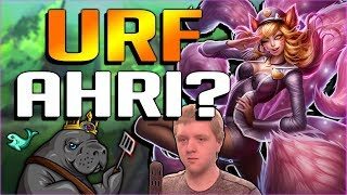 AHRI BUFFS MAKE EVERY GAME URF MODE?? NEW PBE BUFFED AHRI GAMEPLAY - League of Legends