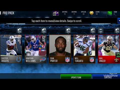 Late night pro pack opening. Pulled 81 orverall Max Unger!