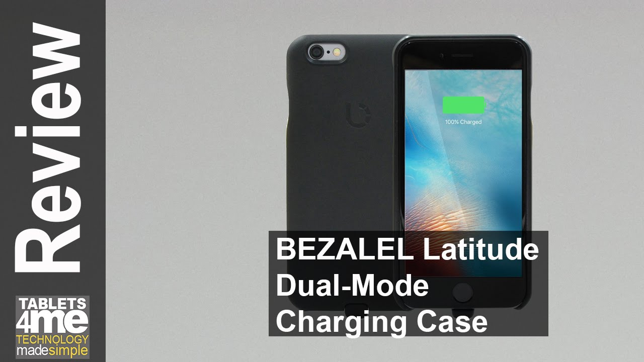 buy popular 44a5e 54ebf BEZALEL Latitude [Qi + PMA] Dual-Mode Universal Wireless Charging Receiver  Case