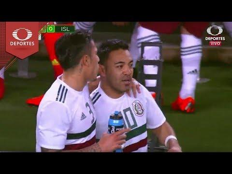 Gol de Marco Fabián | México 1 - 0 Islandia | Partido Amistoso | Televisa Deportes