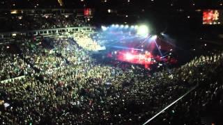 Bruno Mars LIVE, OPENING/MOONSHINE. UNITED CENTER, CHICAGO,USA. Julio 12 de 2013