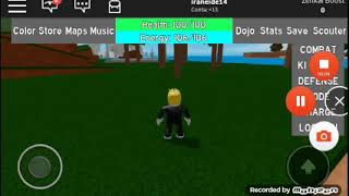 Playing Bal Dragao on ROBLOX