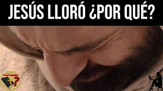 Jesús lloró ¿Por Qué Lloró Jesús? - Tengo Preguntas