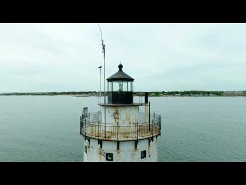 Butler Flats Lighthouse - New Bedford, Massachusetts