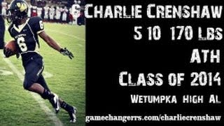#6 Charlie Crenshaw / ATH / Wetumpka High (AL) Class of 2014