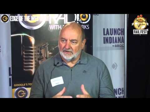 Interview with David Becker at Fail Fest   Launch Fishers   Edge of the Web Radio