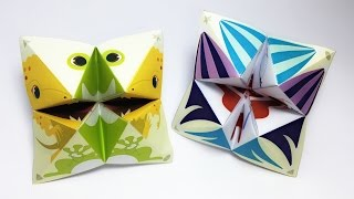 Catcher Origami tutorial !