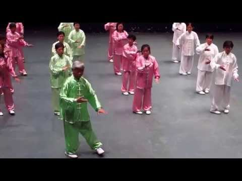 24 Form Tai Chi Chuan Group Performance