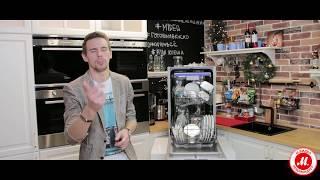 Обзор узкой посудомоечной машины Midea MID45S300