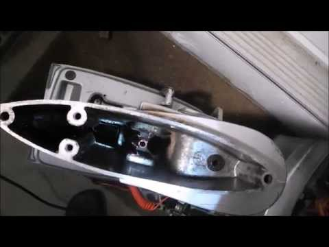 Outboard Lower Unit Rebuild (Part 6 of 6) Installing the foot onto the motor