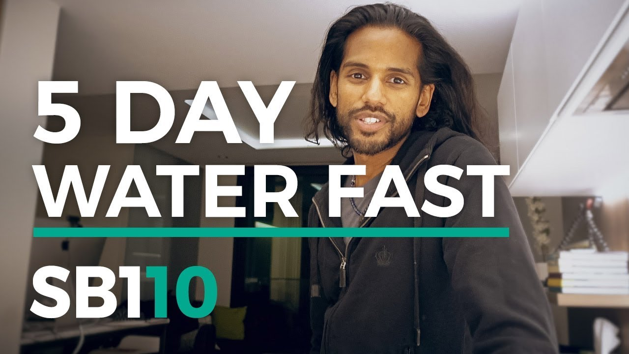 5 Day Water Fast + Ketosis | UNBELIEVEABLE Benefits of Fasting SB110