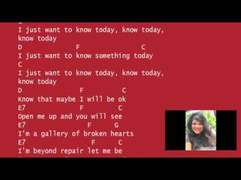Be Ok Ukulele Cover An Ingrid Michaelson Song Youtube