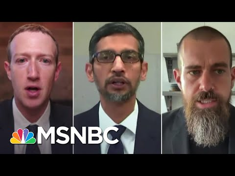 Tech CEOs Testify About Misinformation On Their Platforms Around Insurrection | Ayman Mohyeldin