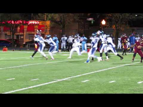 Lewis pass to McCormack Chesapeake/Dunbar football 1A North Region semi 11/10/17