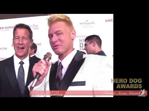 James Denton wChris Valentine at the Hero Dog Awards