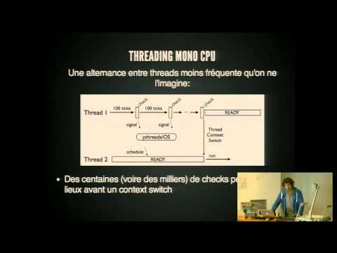 PyConFR 2013 - Adrien Guillo - Les effets de bord du Global Interpreter Lock