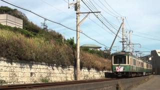 2014/08/15 江ノ島電鉄線稲村ヶ崎~七里ヶ浜.