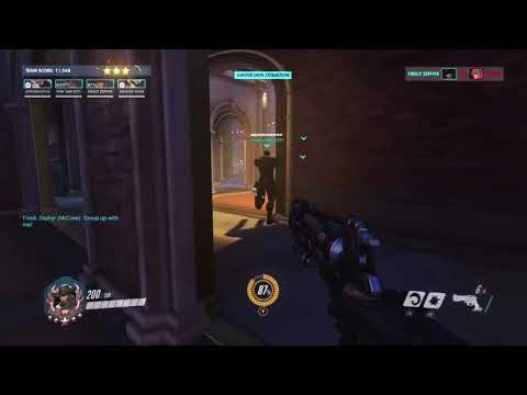 """""""Spaghetti Westerns"""" -McCree and Moira Interaction New Archives Event"""