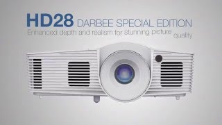 optoma hd28dse darbee special edition une image poustouflante cobra fr