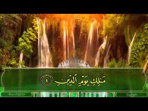 Koran Svensk Tal 001 Surah Al Fatihah nya design