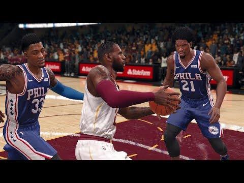 NBA Today 12/9/2017 - Cleveland Cavaliers vs Philadelphia Sixers Full Game Live (NBA Live 18)
