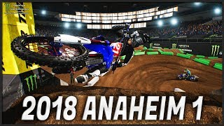 2018 ANAHEIM gets WILD! (Monster Energy Supercross: The Official Videogame)