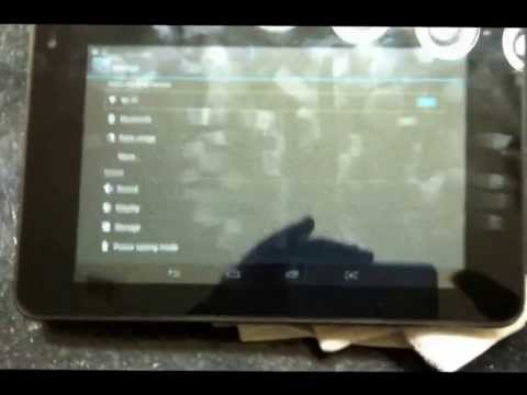 ANDROID Hisense Sero tablet : How to Turn off voice / talk back review