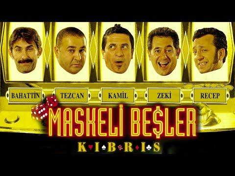 Maskeli Beşler: Kıbrıs | Şafak Sezer Türk Komedi Filmi | Full Film İzle (HD)