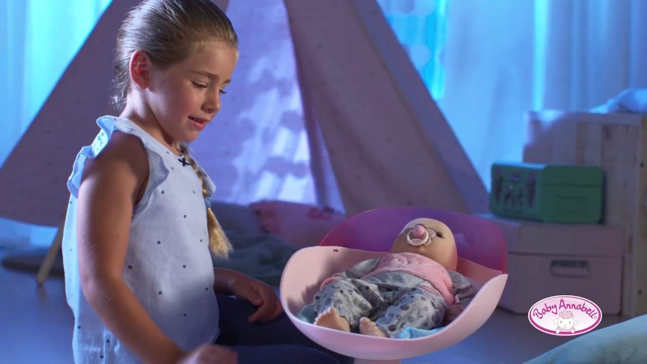 Baby Annabell Sweet Dreams Babyschaukel, Bett und Pyjama ...