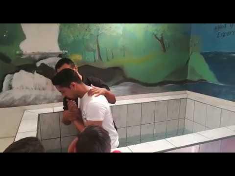 BAUTISMO / BAPTISM - Barva iglesia de Cristo - church of Christ (Costa Rica) 2017 #1