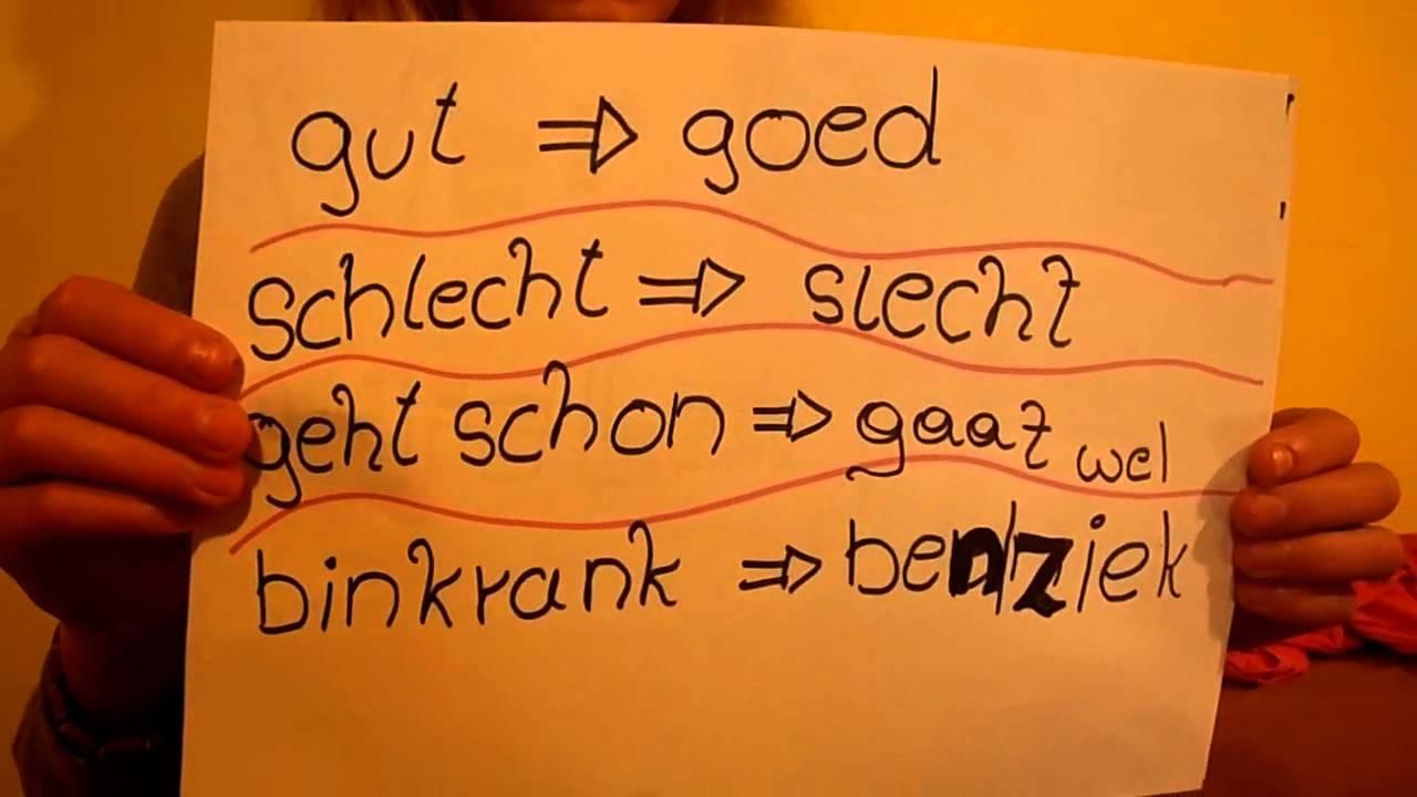 Guten Morgen Niederländisch Niederländisch Holländisch