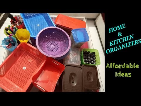BEST HOME AND KITCHEN ORGANIZERS- HOME ORGANIZATION IDEAS BY BHAVNA