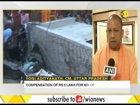 India: Rescue operations continue in Varanasi at the site of flyover collapse