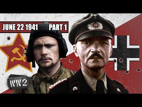 Операция Барбаросса - Крупнейшое наземное вторжение в истории - WW2 - 096a - 22 Июня 1941