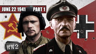 Operation Barbarossa - Biggest Land Invasion in History - WW2 - 096a - June 22 1941