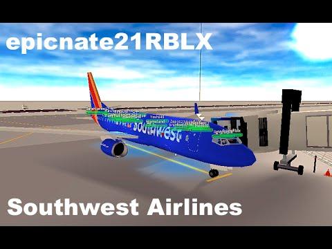 ROBLOX | Southwest Airlines Boeing 737-800 Flight