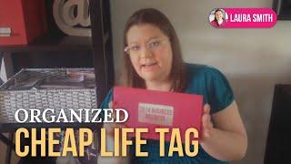 Organized Cheap Life Tag Thumbnail