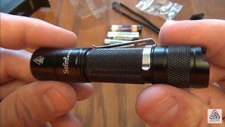 sofirn SF14 Version 2.0 Mini Flashlight Super Bright - 550 lumens