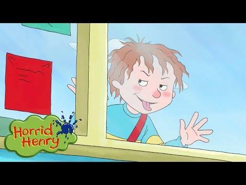 Horrid Henry - Locked Out of School   Cartoons For Children   Horrid Henry Episodes   HFFE