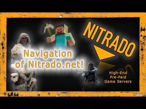 General Tutorial: 1. Navigating Nitrado Net