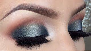 Blue halo makeup tutorial