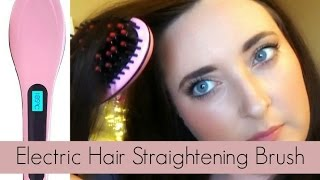 Beautiful Star Electric Hair Straightening Brush | Confetti & Curves